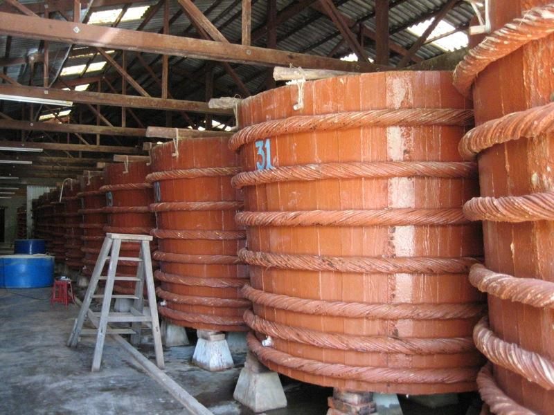 Inside a fish sauce factory in Phu Quoc