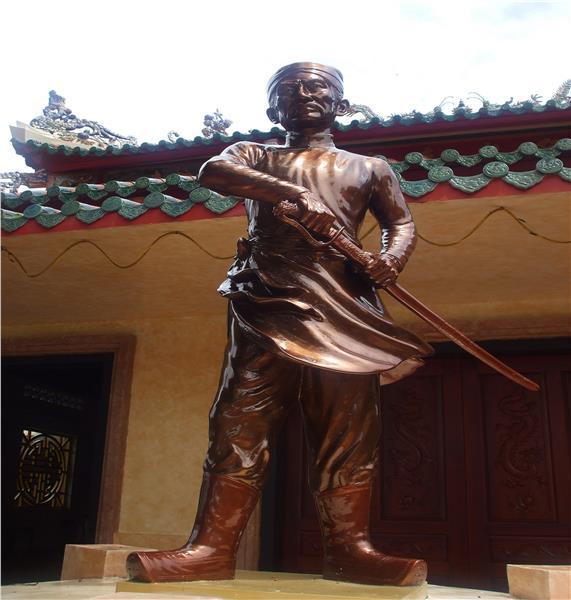 Nguyen Trung Truc Statue