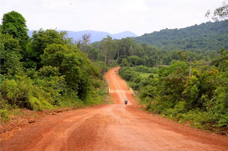 Road into Phu Quoc National Park