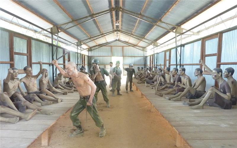 Inside Phu Quoc Prison