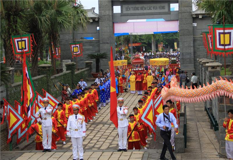 Security in Hung King Festival