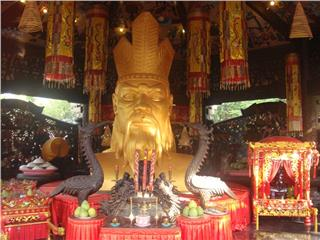 Hung King Festival remains traditions