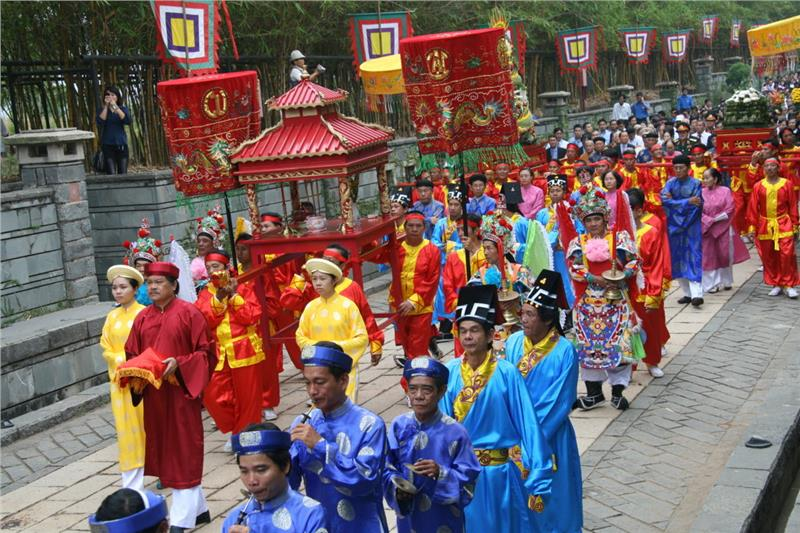 Traditional Activities in Hung King Festival