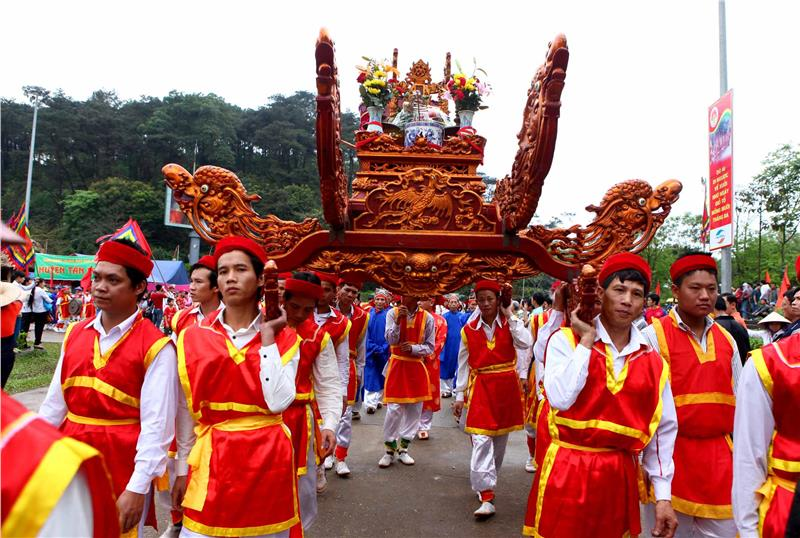 Traditional Rituals in Hung King Festival