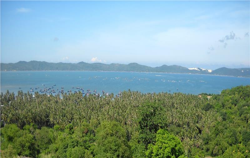 Xuan Dai Bay in Phu Yen Province