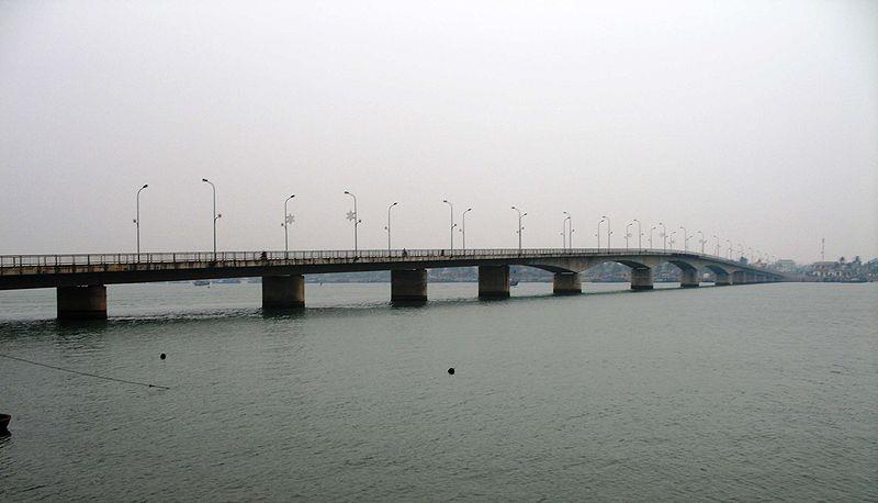 Nhat Le River in Quang Binh province