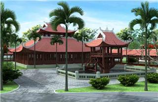Most unique museum of Vietnamese ancient houses