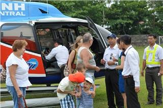 First tour to Hoi An and My Son by helicopter