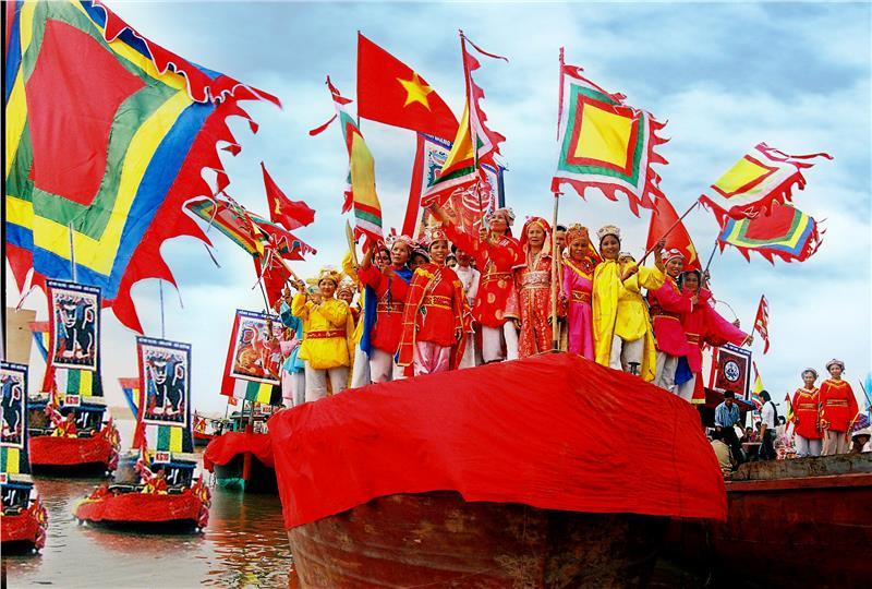 Festival of fishermen in Central Vietnam