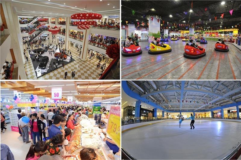 Inside Vincom Center Halong on opening day