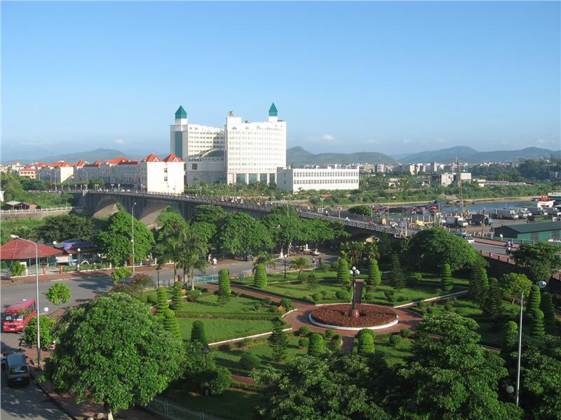 Mong Cai City in Quang Ninh