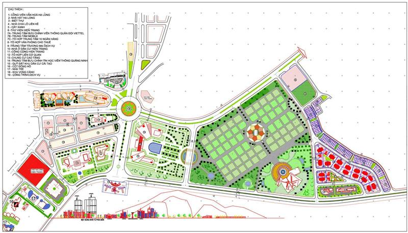 Map Vincom Center Halong