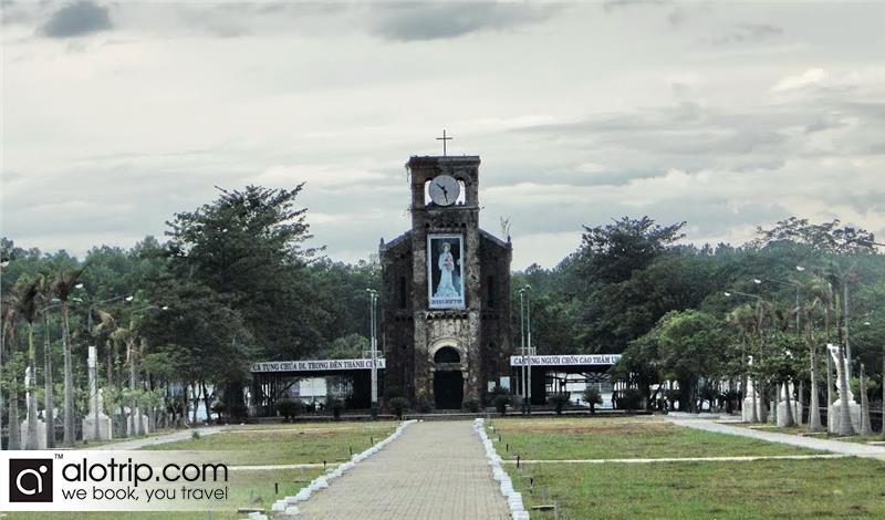 La Vang church panorama