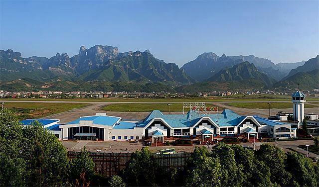 Sân bay quốc tế Trương Gia Giới