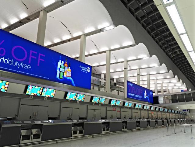 Nhà ga T1 sân bay quốc tế Glasgow