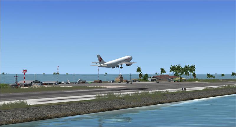 Đường băng sân bay quốc tế Marshall Islands