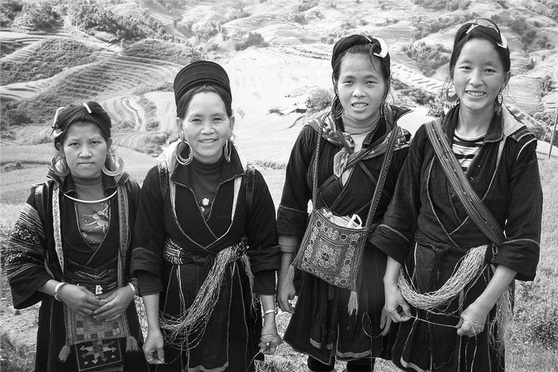 Hmong Women in Sapa Vietnam