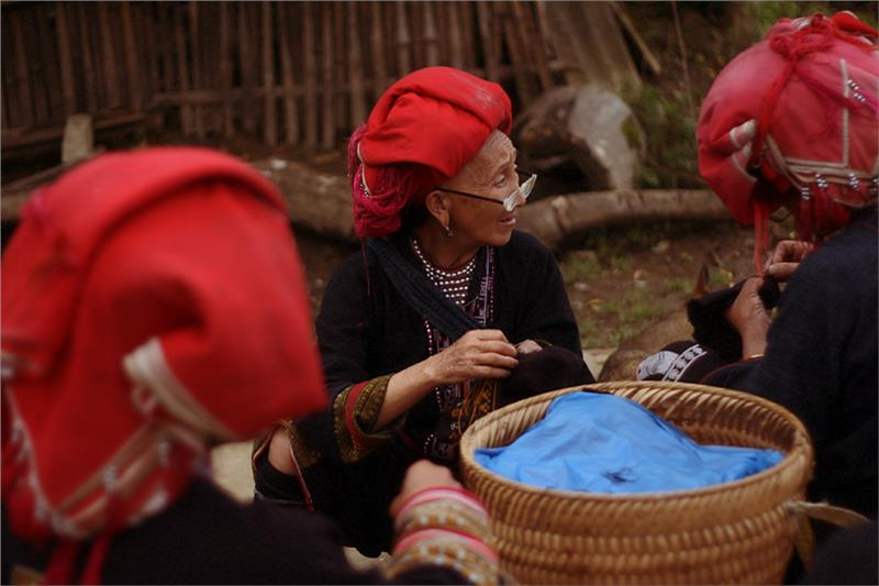 Local women in Sapa