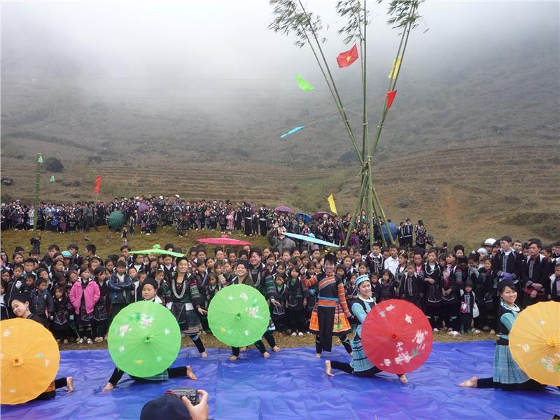 A festival in Sapa