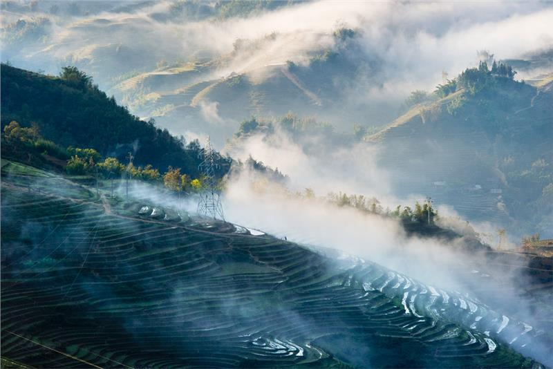 Sapa at dawn
