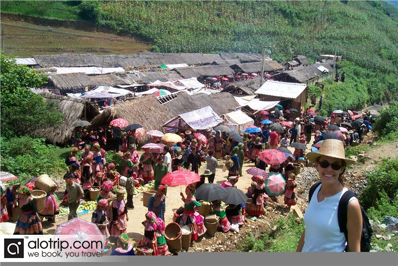 Sapa – Bac Ha Market on Sunday