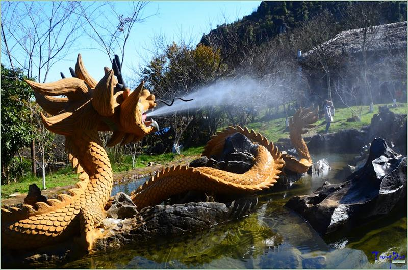 Dragon in Ham Rong Mountain