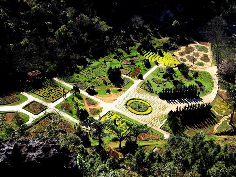 European Garden on Ham Rong Mountain