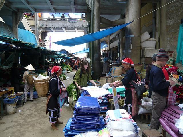 Trading at Sapa Market