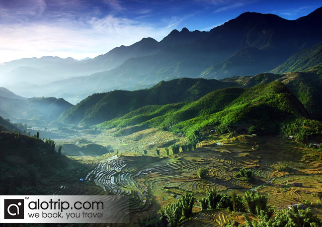 a corner of Sapa Valley