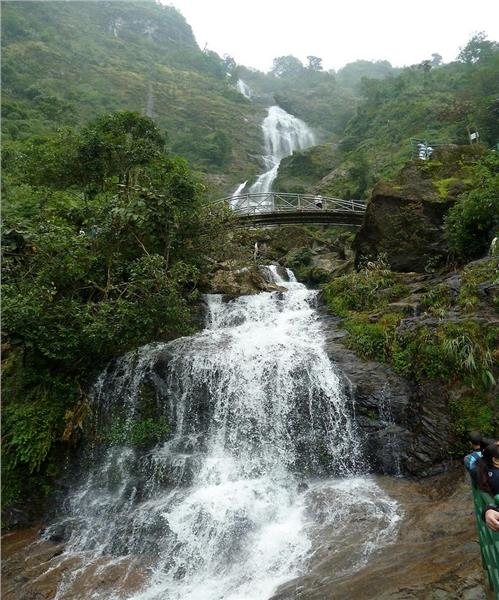 Bac Falls - Silver Falls in Sapa
