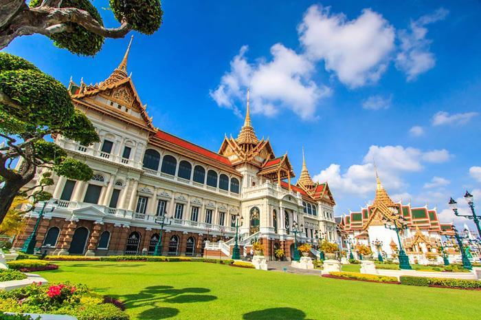 3 cung điện không thể bỏ qua khi đến Thái Lan