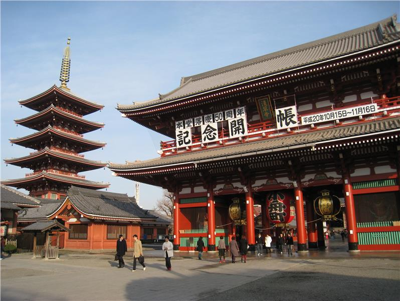 Chùa Senso-ji cổ kính nhất Tokyo