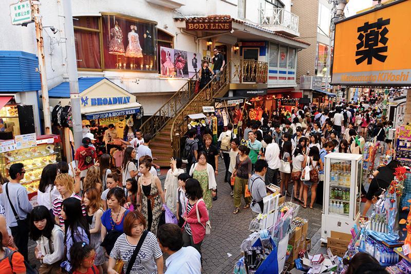 Con phố thời trang Harajuku