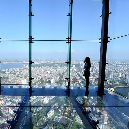 Đài quan sát Sky Walk - Lotte Center