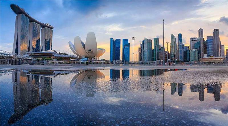 Ngắm nhìn vẻ đẹp vịnh Marina - Singapore