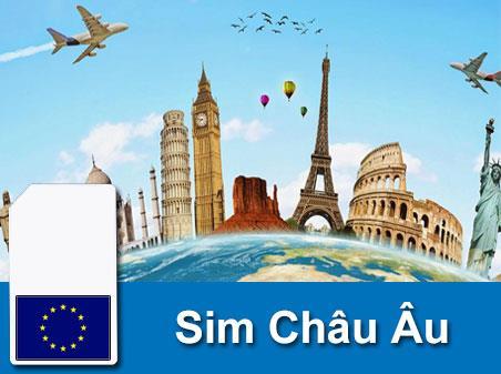 Sim du lịch Châu Âu - 10 ngày - 500MB/ngày - 4G - Gồm: Bỉ/Thuỵ Sĩ/Montenegro/Serbia/Nga/Albania/Bosnia & Herzegovina/Ukraine – SC05