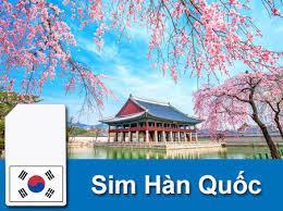 Sim du lịch Hàn Quốc - 10 ngày - 100GB - 4G - SB19