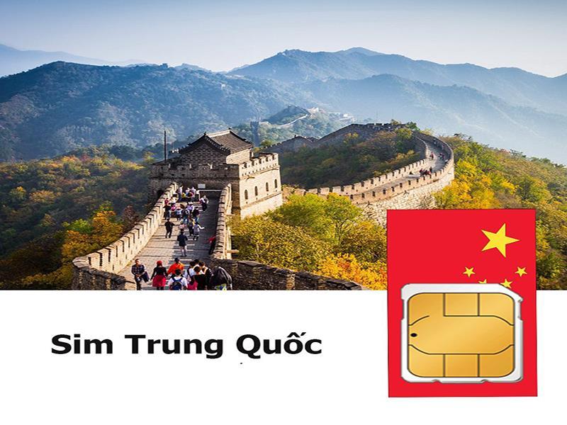 Sim du lịch Hồng Kong - Trung Quốc - 8 ngày - 1GB/ngày - 4G – SC01