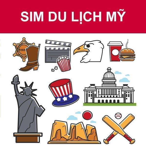 Sim 4G du lịch Mỹ