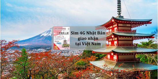 Sim du lịch Nhật Bản - 5 ngày - 1GB/ngày - 4G – SB02