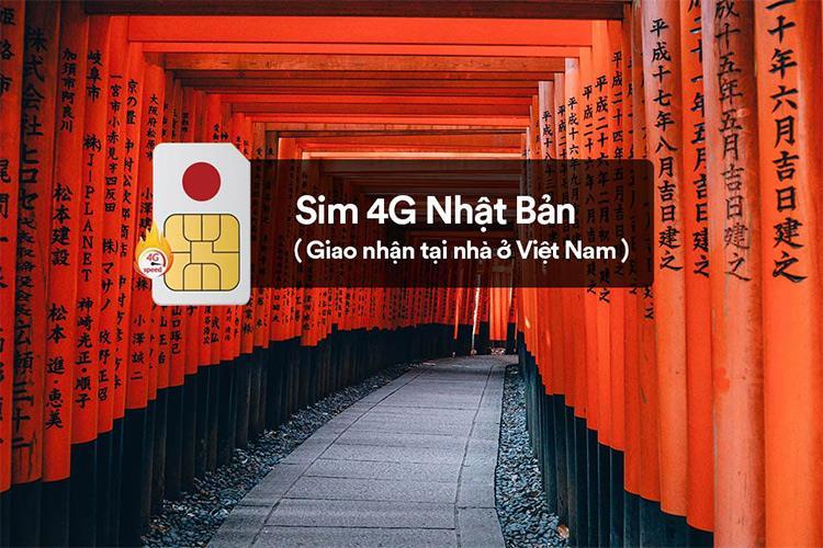 Sim Nhật Bản - 10 ngày - 1GB/ngày - 4G - SB16