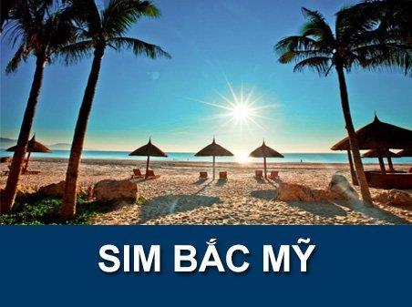 Sim du lịch Mỹ - Canada - Mexico - 30 ngày - 4GB - 4G - Nghe gọi – SA14