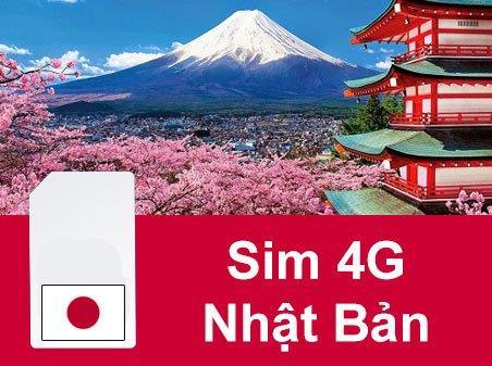 Sim du lịch Nhật Bản - 4 ngày - 1GB/ngày - 4G – SB01