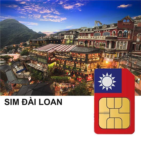 Sim du lịch Đài Loan - 4 ngày - 100GB - 4G - SB20