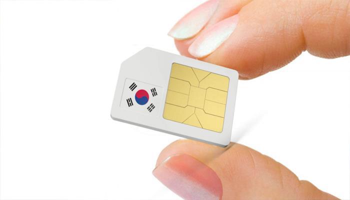Sim du lịch Hàn Quốc - 7 ngày - 100GB - 4G – SB05