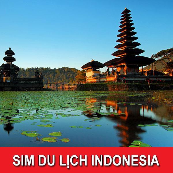 Sim du lịch Indonesia -10 ngày - 2GB - 4G - SB32