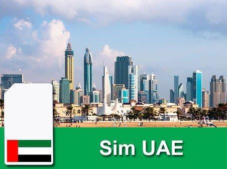 Sim du lịch Các Tiểu Vương Quốc Ả Rập - 10 ngày - 1GB - 4G - SA06