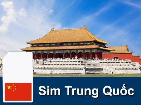 Sim du lịch Trung Quốc - 5 ngày - 100GB - 4G - SB28