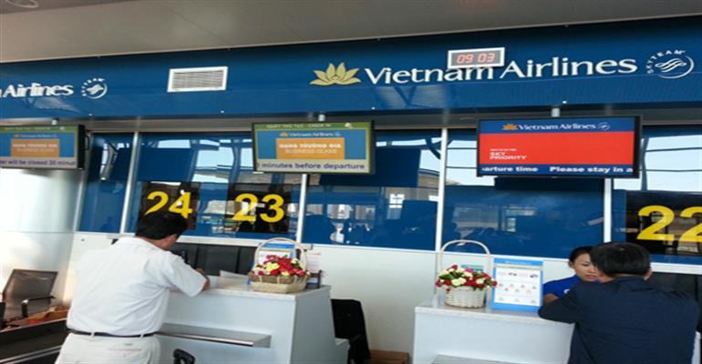 Vietnam Airline upgrades check-in system