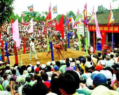 The Sinh Village festival 2013 attracted thousands of visitors